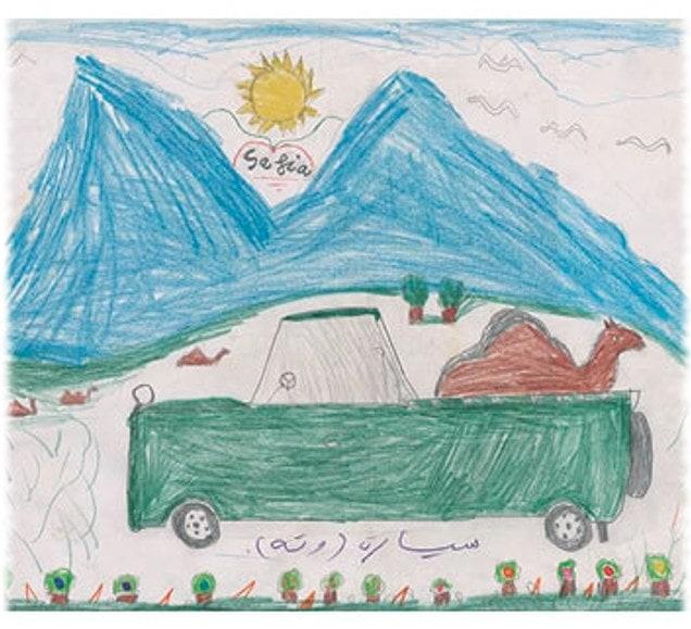 dibujos proyecto solidario Sahara