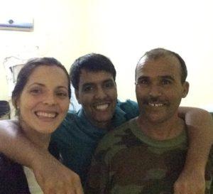 programa de formación en el Sahara