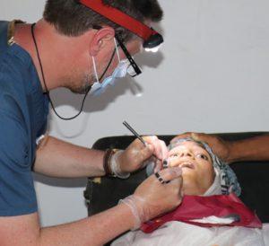 Actividades odontología solidaria sahara