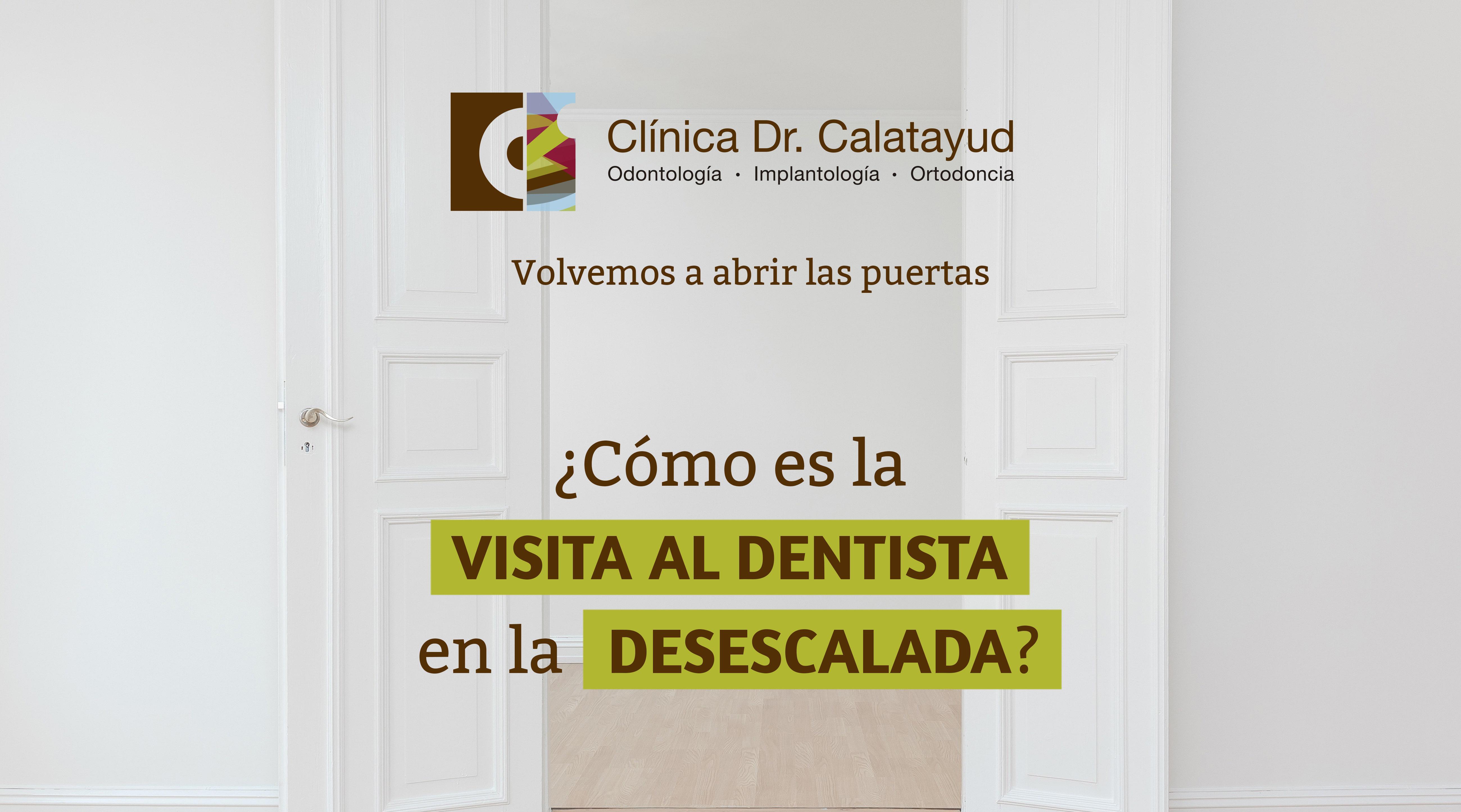 Cómo es la visita al dentista en la desescalada